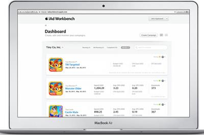 Apple expands iAd Workbench to Europe