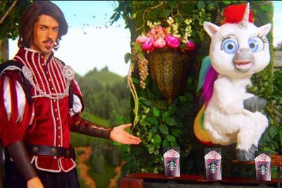 Twitter compares Starbucks' #unicornfrappuccino to poop of Squatty Potty unicorn