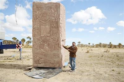 9Gag buries monument to memes in the desert to puzzle future generations