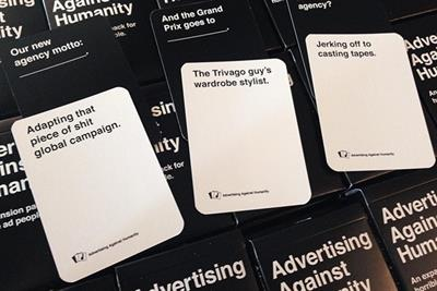 Holiday gift guide: Advertising Against Humanity