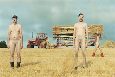 """Vodka and nudity is a winning combination in Absolut's new """"Nothing to Hide"""" campaign"""