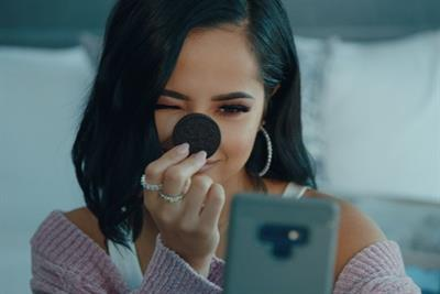 Oreo looks to steal the show with Becky G collaboration