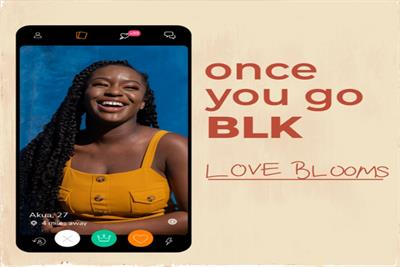 Match Group's BLK celebrates Black love in first brand campaign