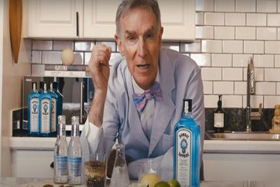 Ad of the week: Bombay Sapphire's 'Bill Nye x Bombay Sapphire'