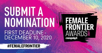 Campaign US Female Frontier awards open for entries