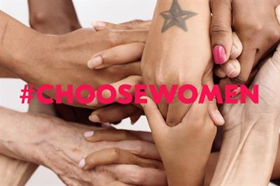 New #ChooseWomen effort aims to finally close gender gap