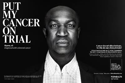 Trial for #ClinicalEquality campaign fights for racial equity in cancer research