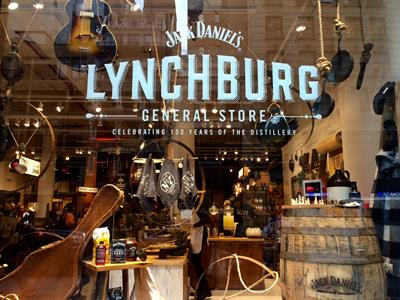 Inside Jack Daniel's 150th anniversary pop-up general store
