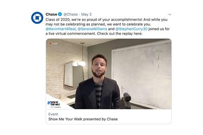 Best social media plan of the year: Chase