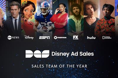 Sales team of the year: The Walt Disney Company
