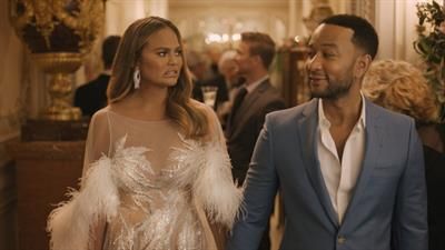 Celeb couple Chrissy Teigen and John Legend depict 'young luxury' in Genesis spot