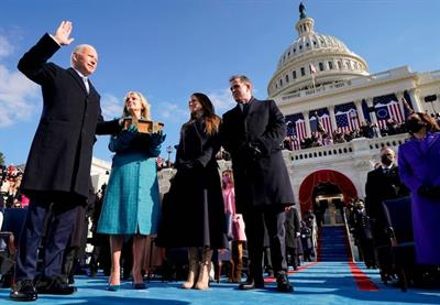 Amazon, Ben & Jerry's and more call for positive action as Biden sworn in