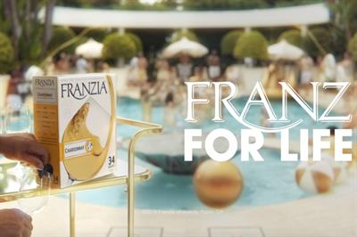 Franzia taps 'Golden Girls' friends theme for new campaign