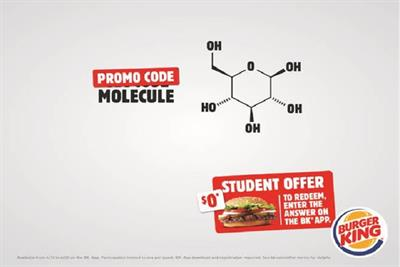 Burger King offers free Whoppers to students, but there's a catch