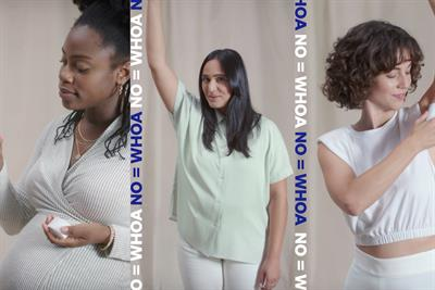 P&G's Native takes on the ultimate vibe-killer: 'no'