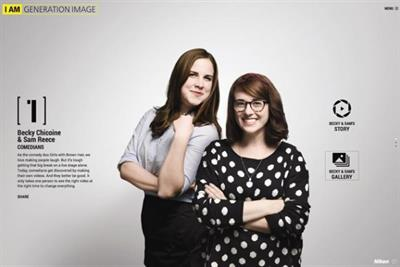 Nikon digital campaign shoots for Millennials