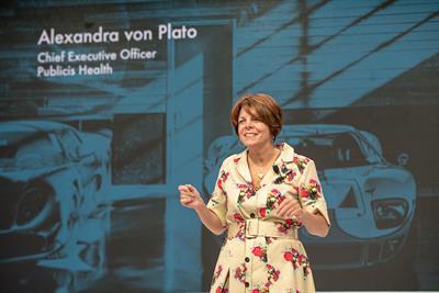 Meet the 40 Over 40 honoree: Alexandra von Plato, Publicis Health