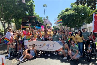 How agencies in LA teamed up to celebrate Pride Month
