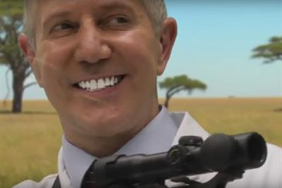 Watch: Paddy Power unveils 'the American Dentist' video in Cecil the Lion spoof
