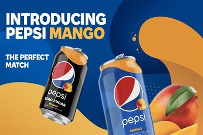 Pepsi's newest permanent flavor: mango