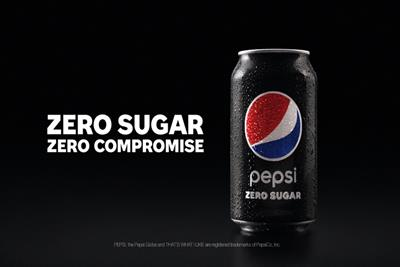 Pepsi Zero Sugar wants men to stop compromising