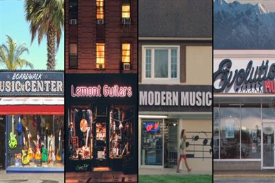 Reverb brings the magic of local music stores across the globe