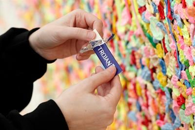Chewing gum's never been so sexually empowering thanks to Trojan
