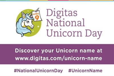 What's your unicorn name? Digitas has the answer