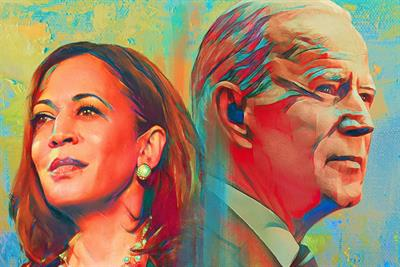 How BOND broke into politics to create iconic art for Biden campaign
