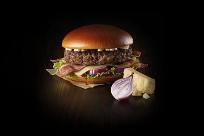 McDonald's samples UK premium burger market with 'Signature' range