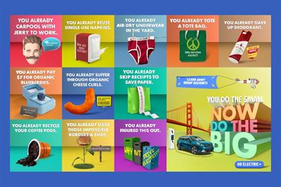 Campaign playfully mocks Northern California lifestyle habits to push electric vehicles