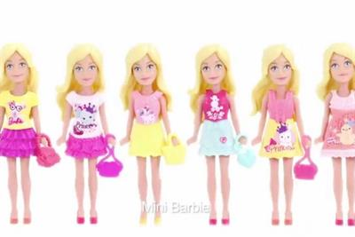 Miniature Barbies invade China, starting at McDonald's