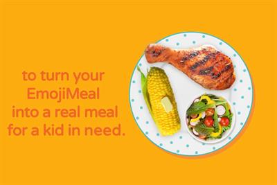 BBH NY's #EmojiMeals campaign tackles child hunger with Instagram Stories