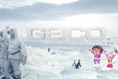 Geico 'It's What You Do' featuring Dora the Explorer