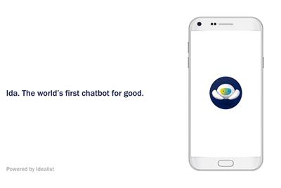 Idealist's new chatbot connects Facebook users with the right charities and nonprofits