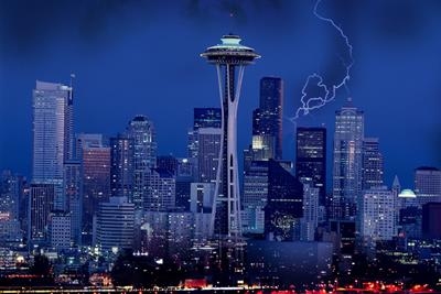 There's a different kind of lightning in Seattle