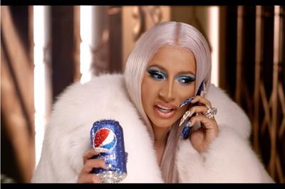 Cardi B helps Pepsi give cash away during holiday season
