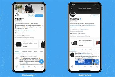 Twitter introduces shopping module