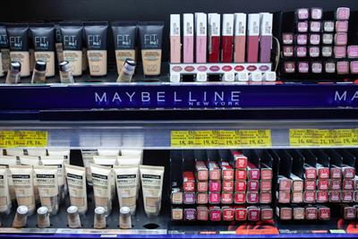Maybelline to pull out of department stores in China