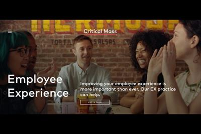 Critical Mass brings its 'Employee Experience' expertise to life in new practice