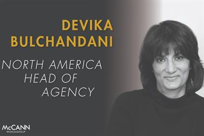 Advertising Agency Head 2019: Devika Bulchandani