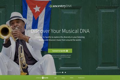 Spotify and Ancestry collab serves up your music DNA