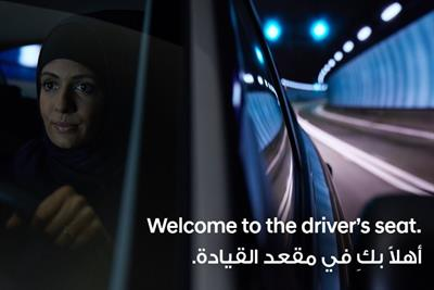 Hyundai put women in driver's seat after Saudi Arabia's ban lift