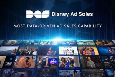 Most data-driven sales capability: The Walt Disney Company