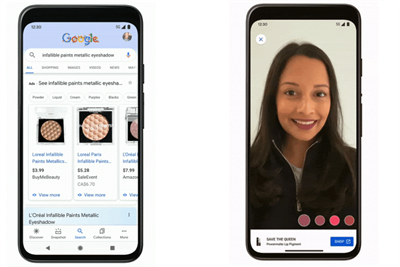 Google rolls out AR makeup try-on tool