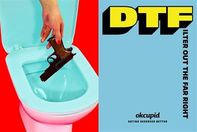 OkCupid shifts creative work from Wieden+Kennedy to Mekanism