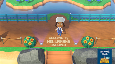 There is now a mayo-themed Hellmann's Island on Animal Crossing