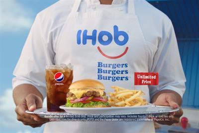 Hello, burgers: Ihop changes name to Ihob to debut new lineup