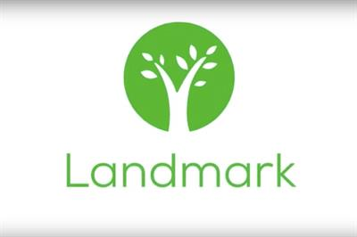 A brighter logo now greets Landmark Health patients