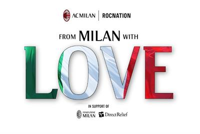 DJ Khaled hosts live concert with AC Milan and Roc Nation for COVID-19 relief